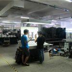 海德堡柯式印刷机